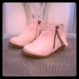 Dolcetta Pink booties
